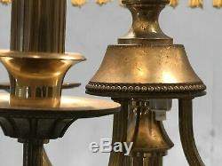 1950 ARLUS LAMPADAIRE ART-DECO MODERNISTE NEO-CLASSIQUE SHABBY-CHIC Lunel