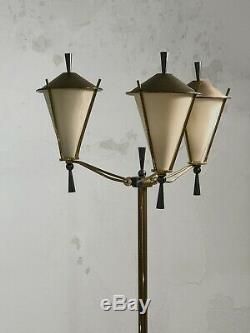 1950 ARLUS LAMPADAIRE ART-DECO MODERNISTE NEO-CLASSIQUE Stilnovo Adnet Lunel