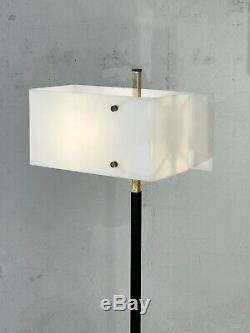 1950 ARLUS LAMPADAIRE MODERNISTE FORME LIBRE Reconstuction Arteluce Stilnovo