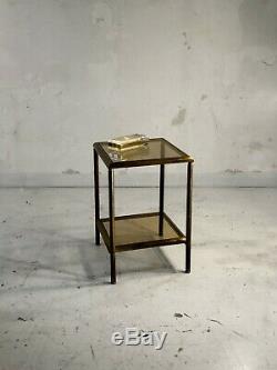 1970 Boite Art-deco Moderniste Shabby-chic Lucite Plexiglas Hollywood Regency