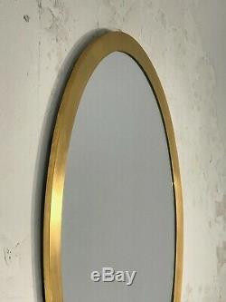1970 MIROIR ART-DECO MODERNISTE Shabby-Chic Willy Rizzo Romeo Rega Bronze