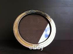 1970's ITALIAN CHROME and BRASS FRAME by NOEL BC Made in Italy CADRE PHOTO