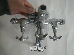 Ancien robinet douche baignoire vintage art déco