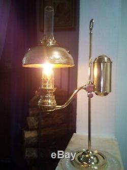 Ancienne Lampe A Petrole Quinquet. 1900