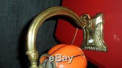 Ancienne lampe de bureau piano objet ancien art déco nouveau collection outil