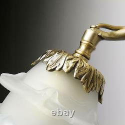 Applique Murale Luminaire en Laiton Bronze Main Déco Chérubin Art Premium