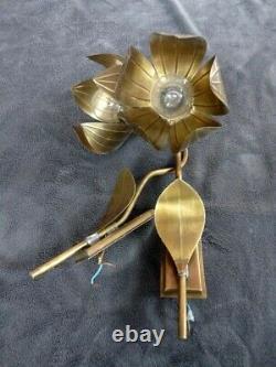 Appliques tole italie en forme de fleur tommaso barbi, Jansen, Charles