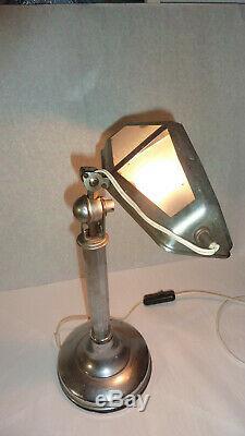 Art Déco Lampe de table ou de bureau Pirouett / Desk Lamp