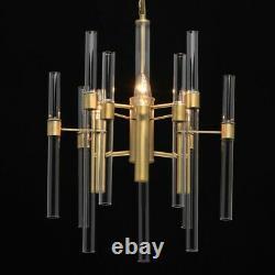Art Déco Suspensions Farryn Ø53cm En Laiton Salon à Manger Lampe Suspendue