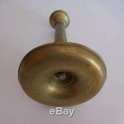 Bougeoir cuivre laiton XIXe Empire Renaissance art déco design PN France N2863