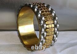 Bracelet Manchette Moderniste Dans Le Style Art Déco