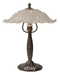 Classique Art Nouveau Type Déco Laiton Lampe de Table Cuivre Pièce Unique Berlin