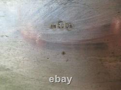 Coffret, écrin boite en laiton 20x15x17cm. Poids 1kg200. Art Déco. Allemagne. W M F