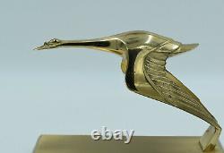 D'aprés Hispano-Suiza Mascotte Style Art Déco Laiton France, XXe