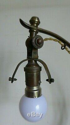 Grand Pied De Lampe Lampe Art Deco Pour Muller Schneider Daum Epoque 1920/30