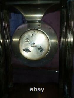 HORLOGE Mecanique à Colonne bronze laiton HOUR LAVIGNE Sonnerie