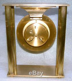 Horlogerie pendule Hour Lavigne en laiton