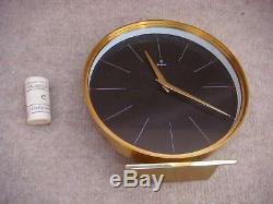 JUNGHANS, horloge de table ancienne en laiton Art Déco Mécanique OK VB4062