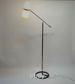 Lampadaire 1950s lamp stablet mid century luminaire interieur vintage light 50s