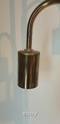 Lampadaire 5 ampoules forme globe couleur laiton luminaire light Robert SONNEMAN