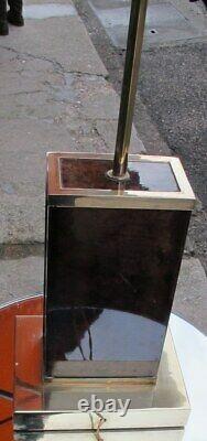 Lampe Aldo Tura L 25 cm H 70 cm P 20 cm
