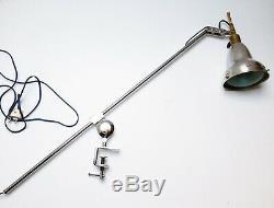 Lampe Architecte Art Deco Bauhaus ILRIN industrial Table Lamp era GRAS 1920 1930