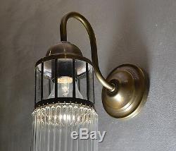 Lampe Art Applique Deco Murale Antique Mur Verre Éclairage Style Decoratif Retro