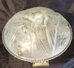 Lampe Période ART-DÉCO Bronze Où Laiton