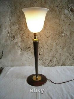 Lampe Tulipe Mazda Art Deco