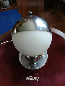 Lampe Vintage designer Biny, Desny, Mauny moderniste Art Déco