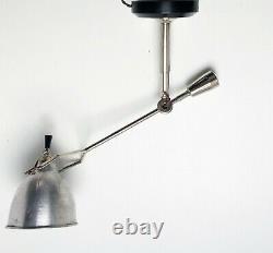 Lampe à balancier EDOUARD WILFRID BUQUET SGDG Art Deco Bauhaus Table Lamp 1930