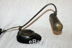 Lampe de bureau articulée d'époque art déco