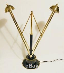 Lampe de bureau design moderniste art déco style Eileen Gray Adnet Perzel