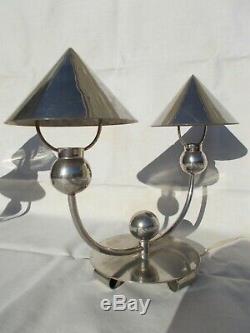 Lampe moderniste des années 1930 Marc EROL vintage design lamp 30s art deco