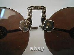 Lunettes De Soleil Chinoise Vintage/art Deco/sunglasses