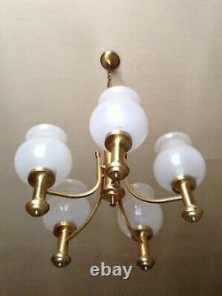 Lustre Laiton Vintage / Brass Pendant Lamp Collection 1980