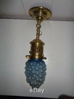 Lustre plafonnier suspension art nouveau grappe de raisin