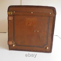 N1977 malle ADOLF BRÜBACH voyage haute couture XIXe art nouveau Allemagne