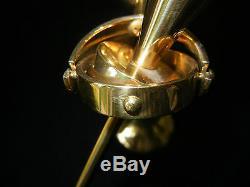 Öl-lampe en Laiton Hera No. 3062 Clear-Drops CDI (Mon Pos. 3062-1)