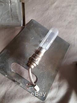 Paire d'appliques Art Déco DLG Lalique Perzel