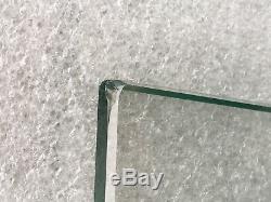 Pare feu design jacques adnet 3 volets verre anneaux laiton fire screen glass