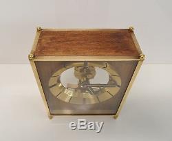 Pendule Horloge Vintage Kundo Electronics Kieninger&obergfell Collector Laiton