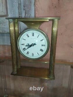 Pendule Mecanique à Colonne bronze laiton HOUR LAVIGNE Sonnerie