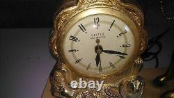 Rare Horloge Cheval 1940 Austin Texas 43 CM X 29 CM