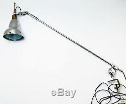 Rare Lampe Art Deco Bauhaus ILRIN L. Bosi & Cie Table Lamp era GRAS 1920 1930