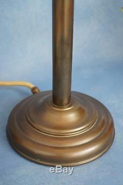 Super Art Nouveau Lampe de Bureau Table Berlin en Laiton 2 Pièce Disponible