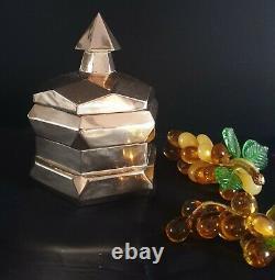 Très Belle Bonbonnière Art-Déco Laiton Où Bronze