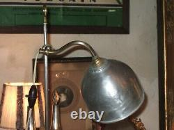 Très Belle Lampe Caye Année 30, Dans Son Jus, Parfait État De Marche